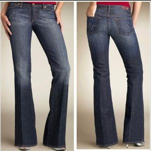 AG the club flare leg jean